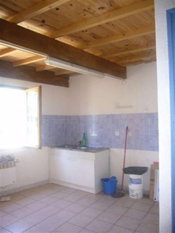 Appartement avec petite cour