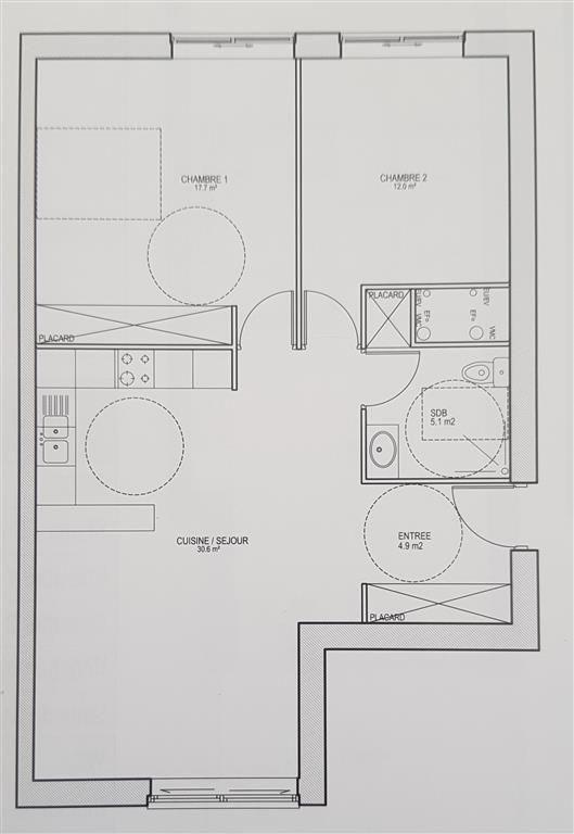 Vendita appartamento Ste genevieve des bois 289800€ - Fotografia 1