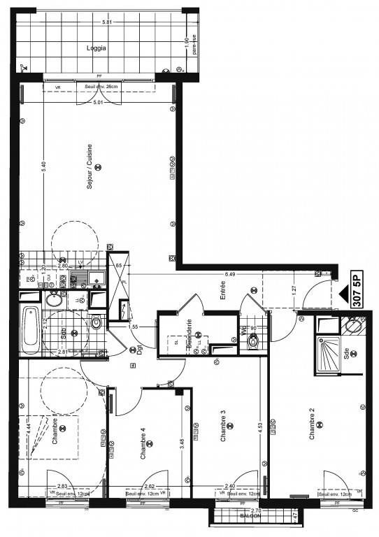 Vente appartement Issy-les-moulineaux 963000€ - Photo 1