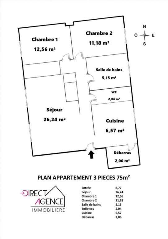 Vente appartement Noisy le grand 242000€ - Photo 6