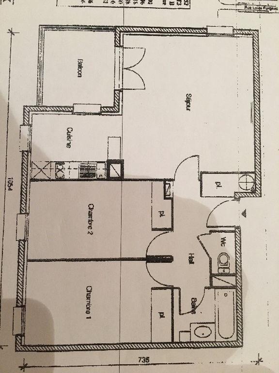 Vente appartement L isle d abeau 98000€ - Photo 1