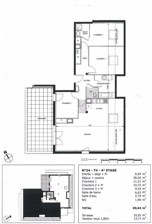Vente appartement Toulouse 375000€ - Photo 1