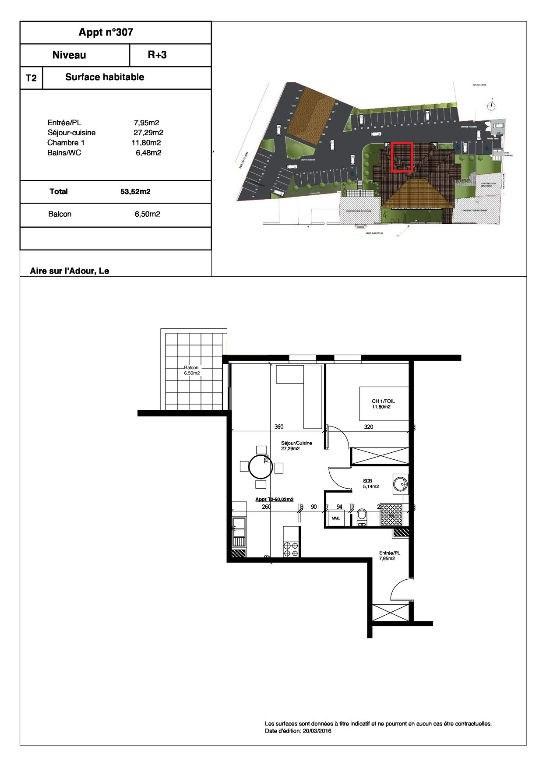 Vente appartement Aire sur l adour 92000€ - Photo 2