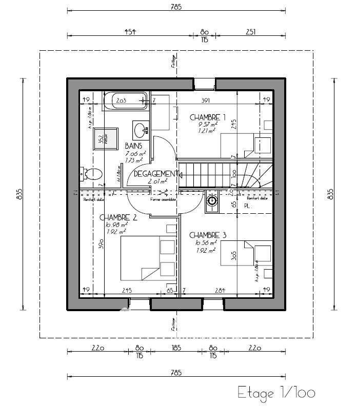 Vente maison / villa Onnion 330000€ - Photo 5