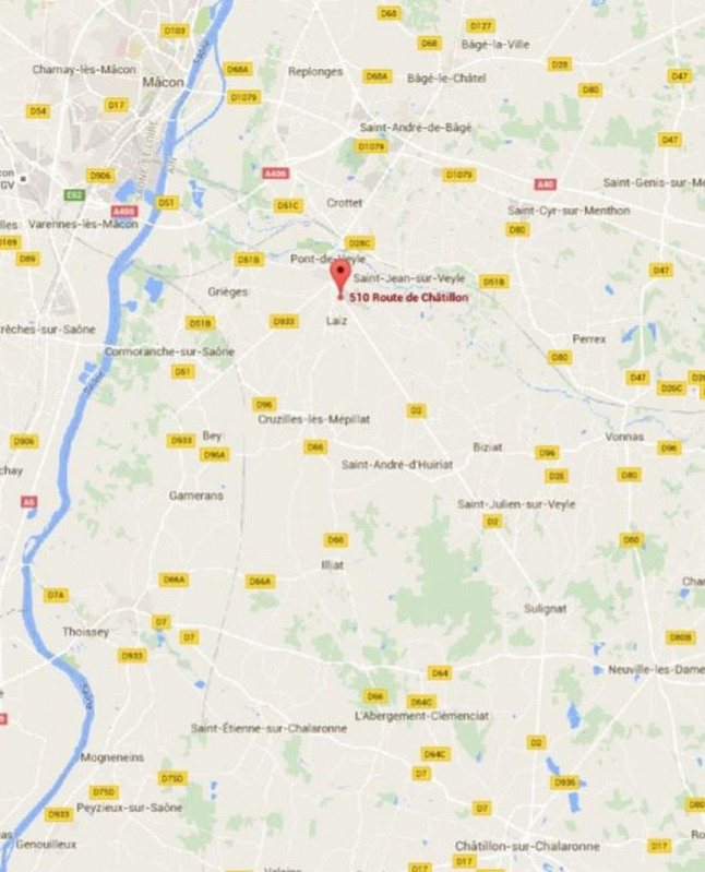 Location Local d'activités / Entrepôt Pont-de-Veyle 0
