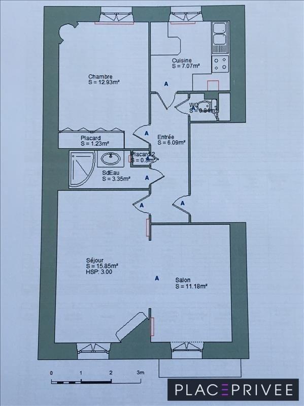 Sale apartment Nancy 149000€ - Picture 5
