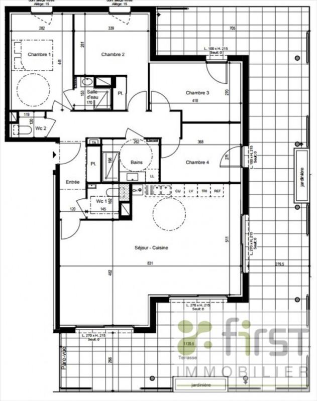 Deluxe sale apartment Vetraz monthoux 618000€ - Picture 1