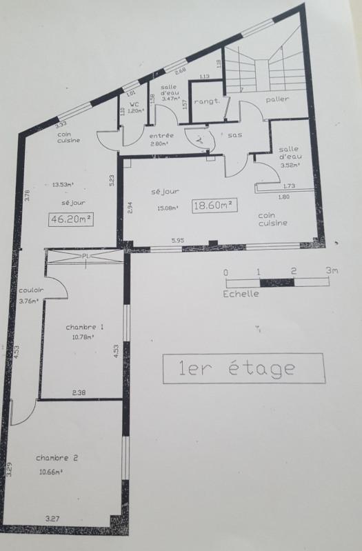 Vente immeuble Aubervilliers 740000€ - Photo 3