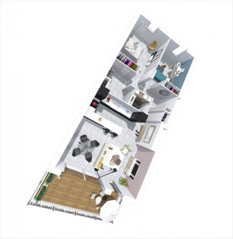 Sale apartment Montelimar 199560€ - Picture 3