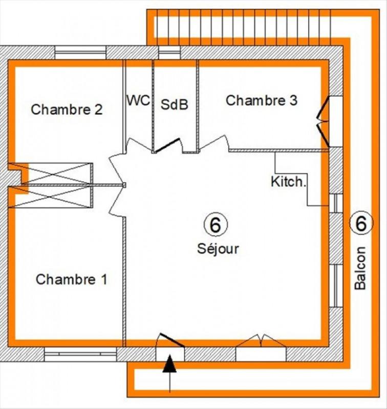 Vente appartement St pee sur nivelle 227000€ - Photo 3