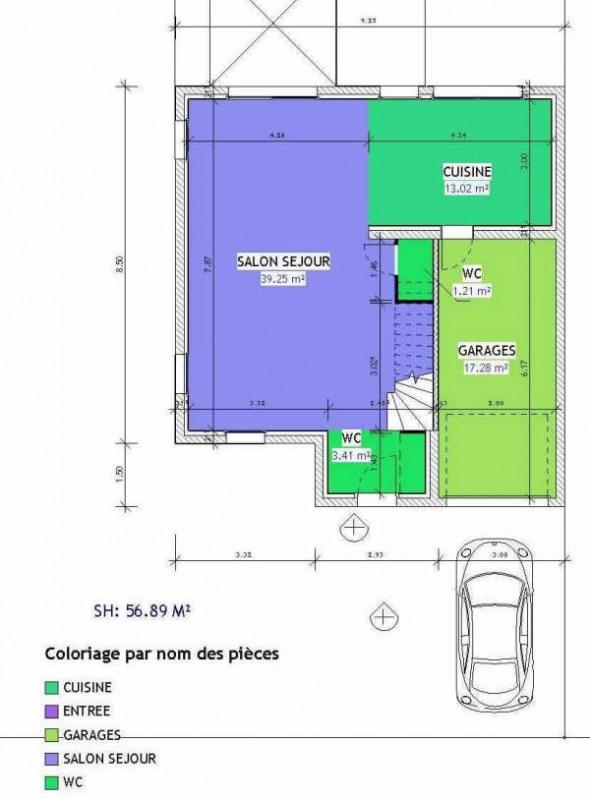 Verkoop  huis Hettange grande 301400€ - Foto 2