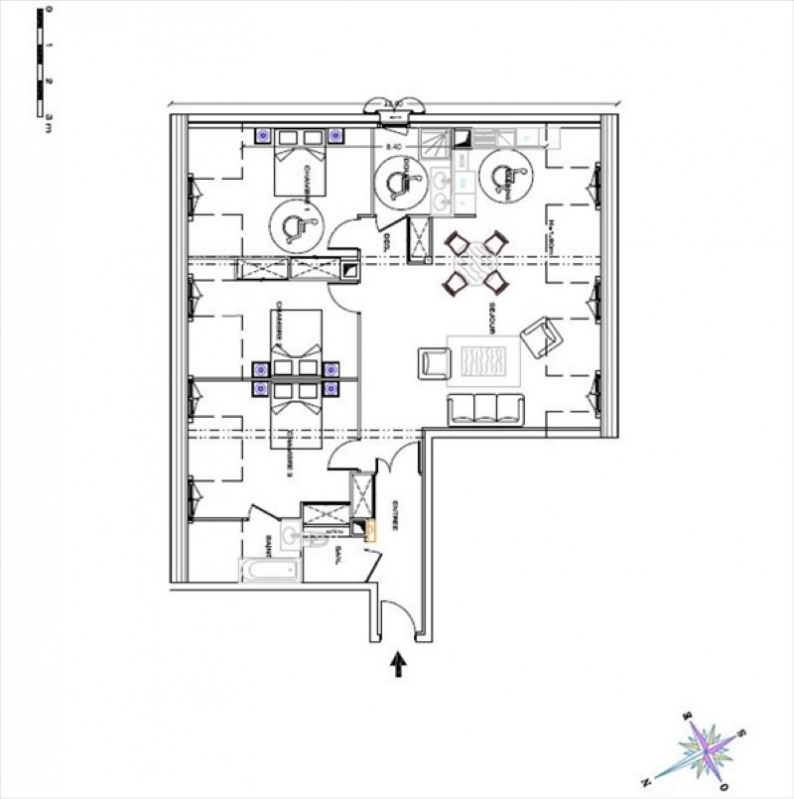 Sale apartment Montfort l amaury 459500€ - Picture 1