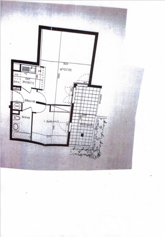 Vente appartement Le port marly 220000€ - Photo 8