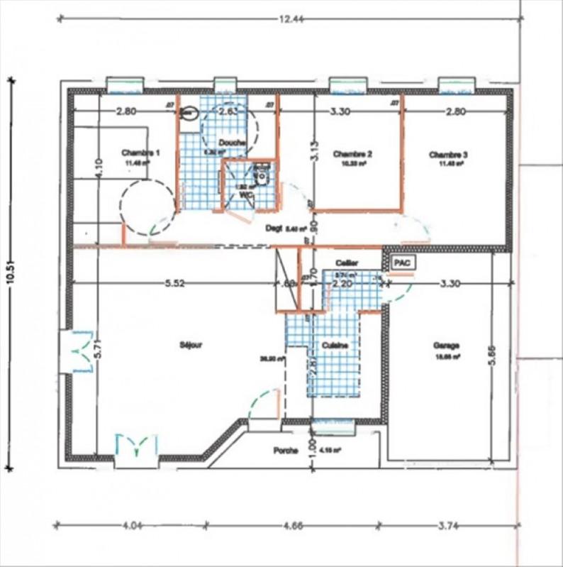 Vente maison / villa St georges de didonne 240880€ - Photo 2