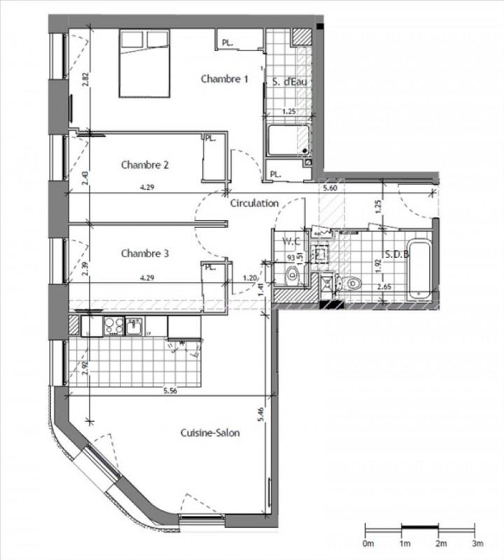 Vente appartement Suresnes 580000€ - Photo 1
