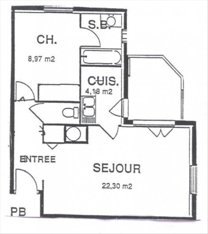 Rental apartment Gif sur yvette 880€ CC - Picture 10