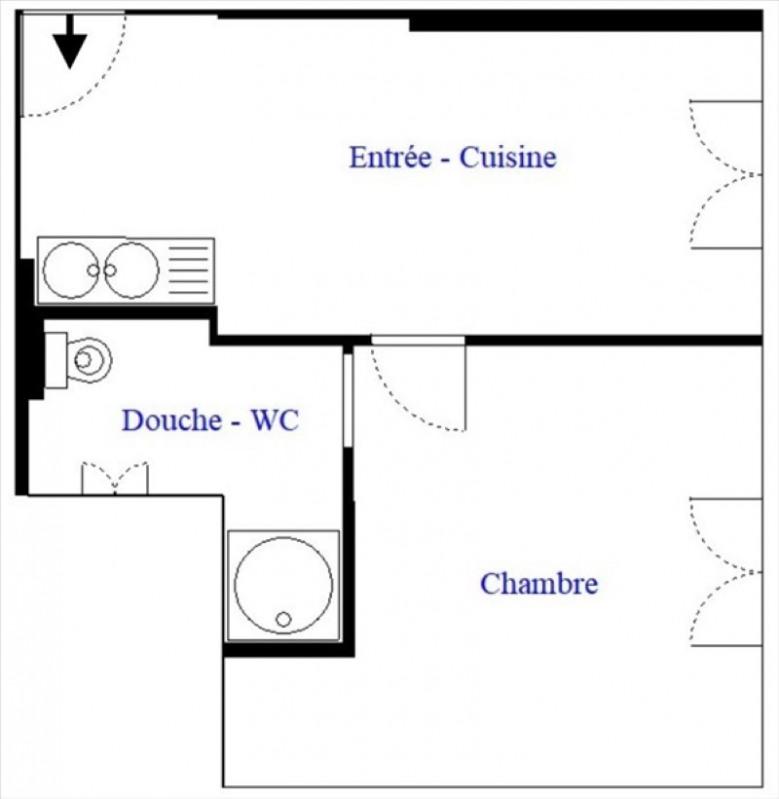 Venta  apartamento Paris 18ème 210000€ - Fotografía 8
