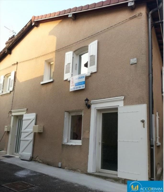 Rental apartment Ternay 618€ CC - Picture 1