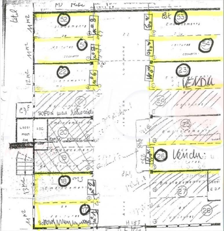 Sale parking spaces Les pavillons-sous-bois 6900€ - Picture 1