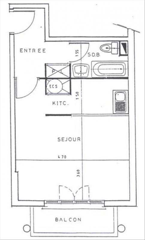 Rental apartment Bures sur yvette 694€ CC - Picture 7