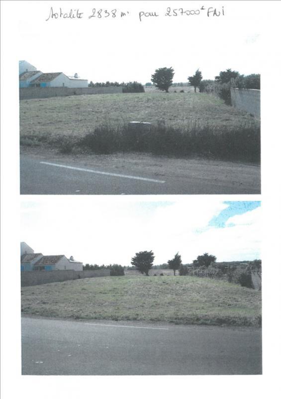 Vente terrain Talmont st hilaire 257000€ - Photo 1