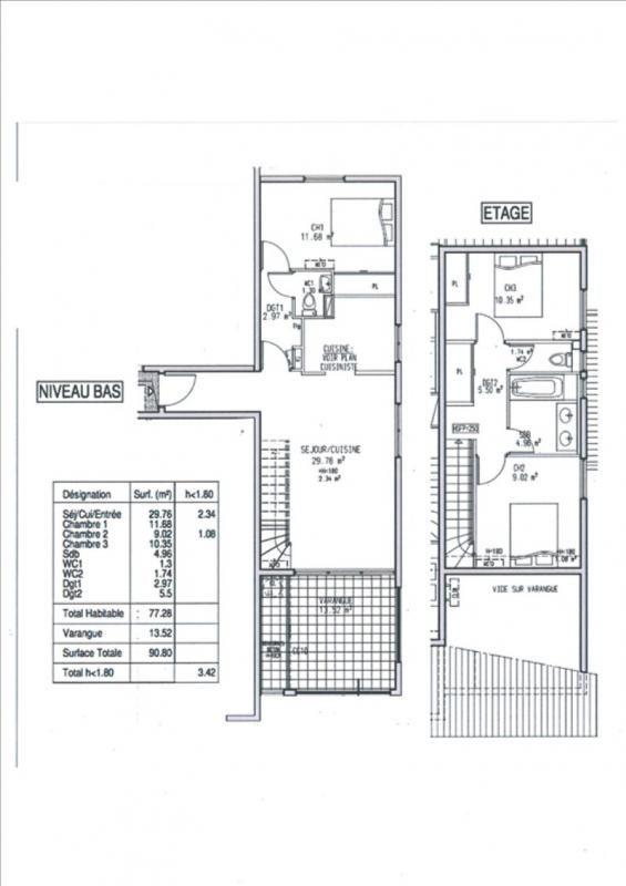 Sale apartment La possession 183500€ - Picture 6