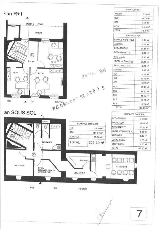 Rental empty room/storage Aubervilliers 3600€ HT/HC - Picture 3