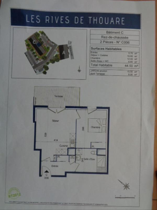 Location appartement Thouare sur loire 565€ CC - Photo 5