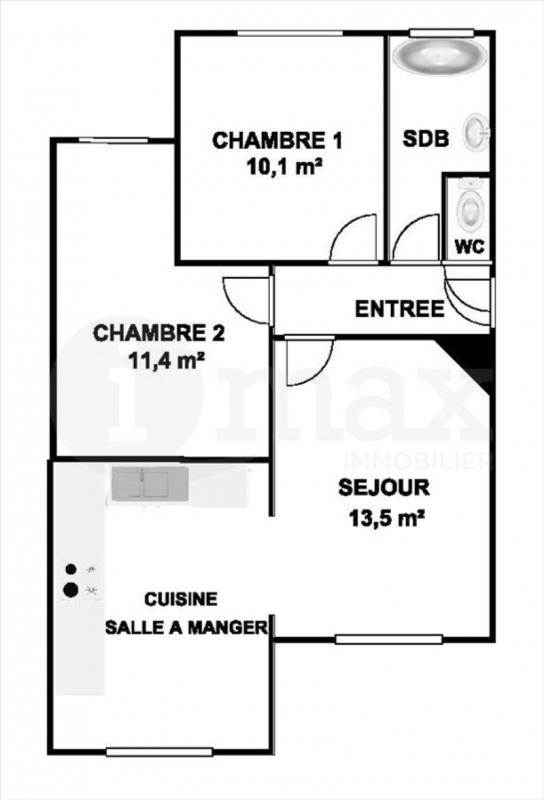 Sale apartment Courbevoie 395000€ - Picture 4