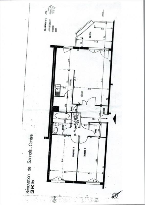 Vente appartement Sannois 210000€ - Photo 7