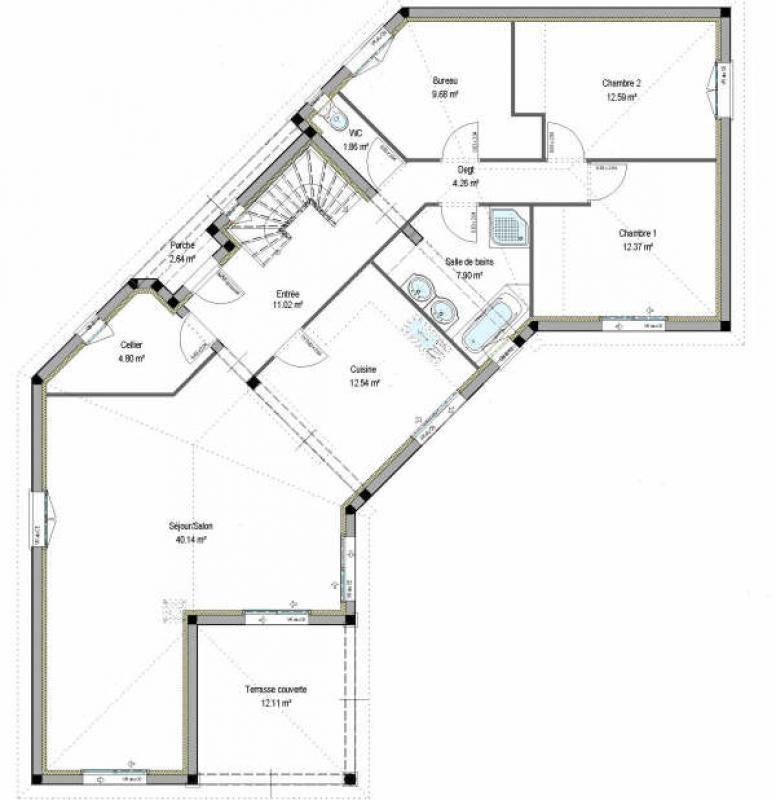Sale house / villa Bergerac 365000€ - Picture 2