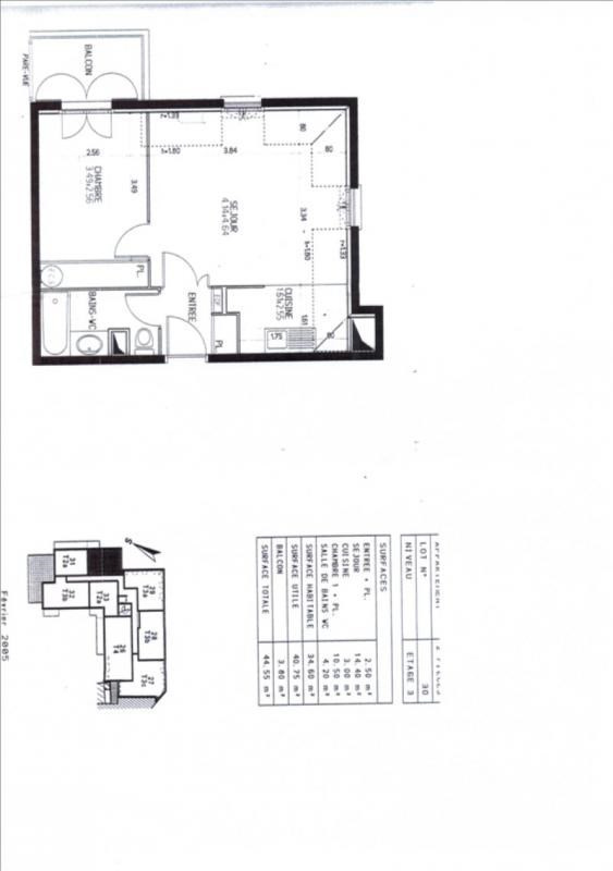 Location appartement Le port marly 860€ CC - Photo 2