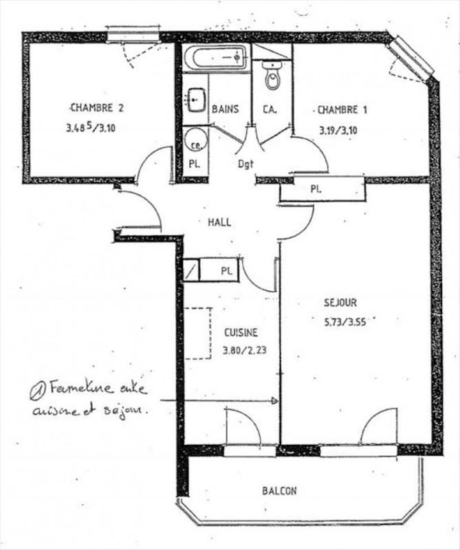 Venta  apartamento Annemasse 230000€ - Fotografía 5