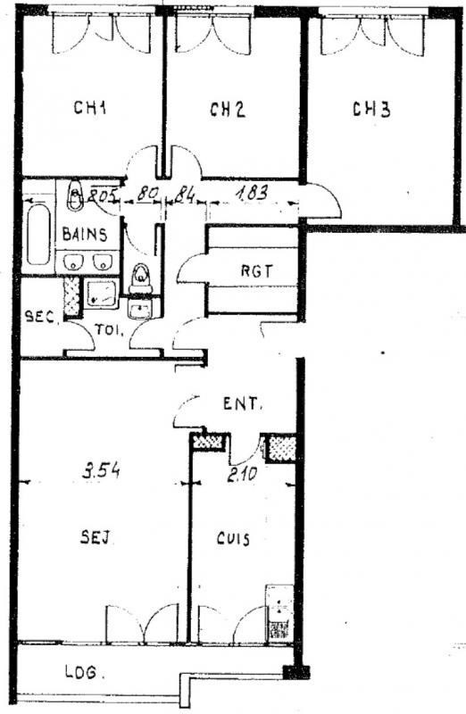 Vente appartement Plaisir 169600€ - Photo 2