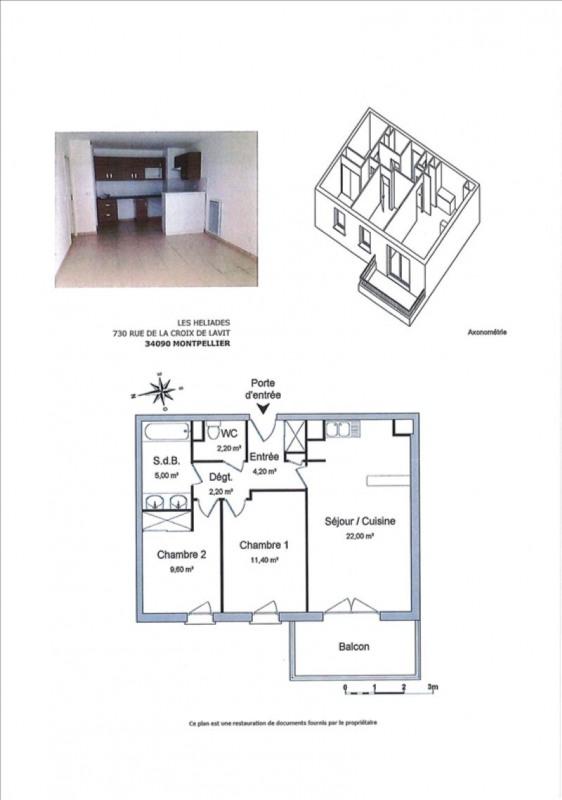 Alquiler  apartamento Montpellier 775€ CC - Fotografía 11