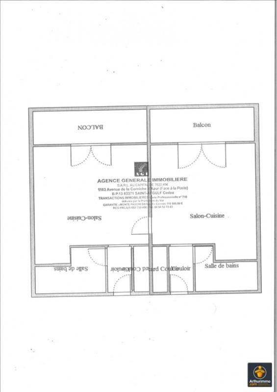 Vente appartement Les issambres 118000€ - Photo 2
