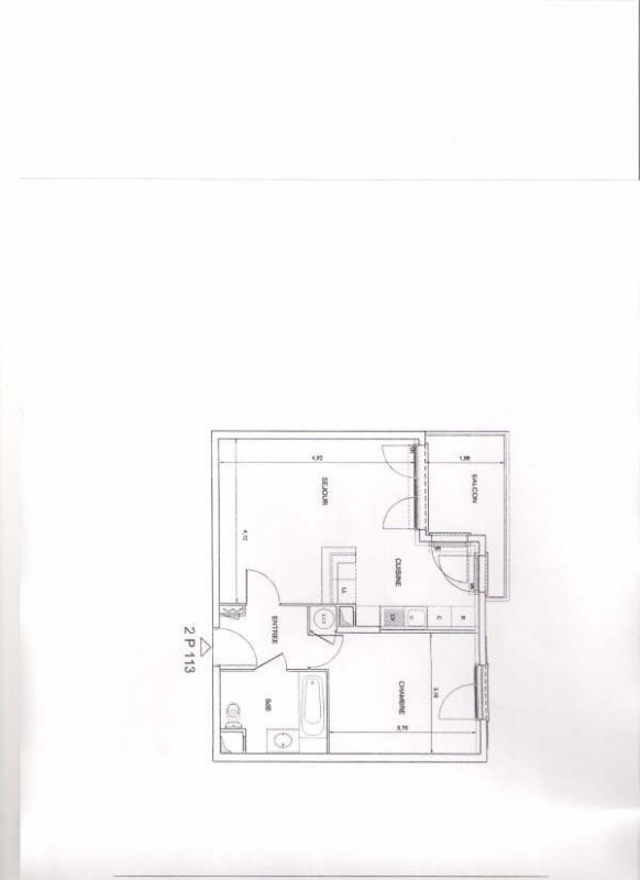 Location appartement Le port marly 905€ CC - Photo 4