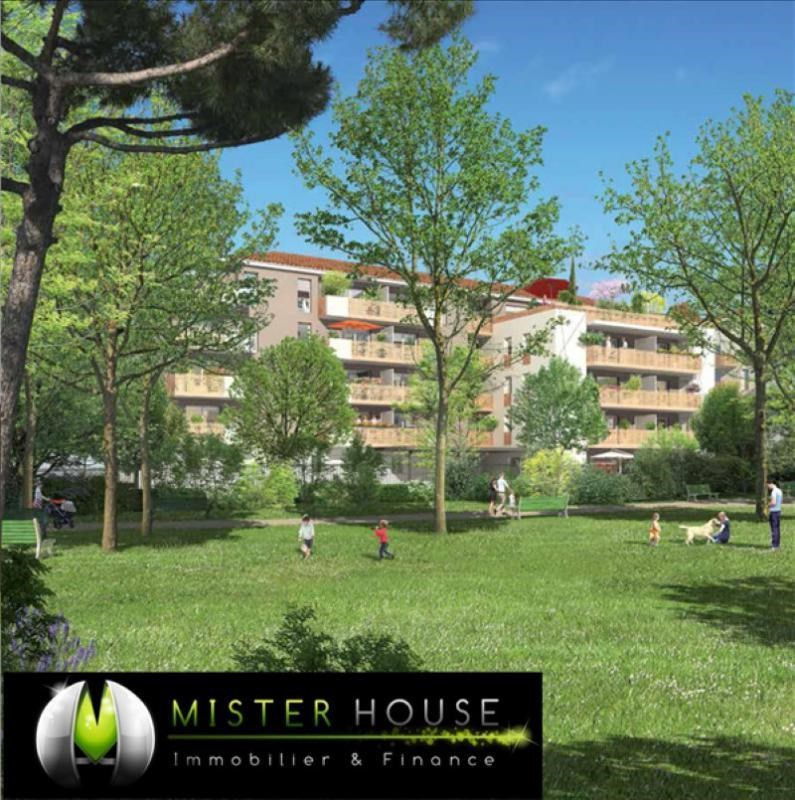 Investment property apartment Toulouse 189 000€ - Picture 1