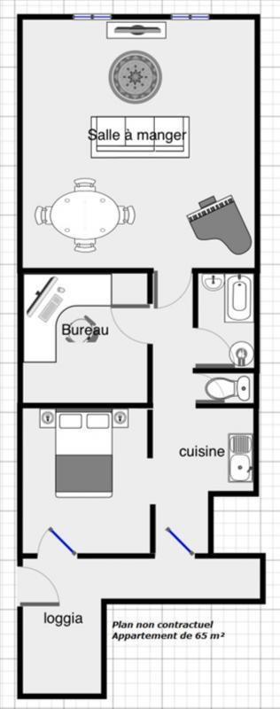Vente appartement Voiron 64500€ - Photo 4