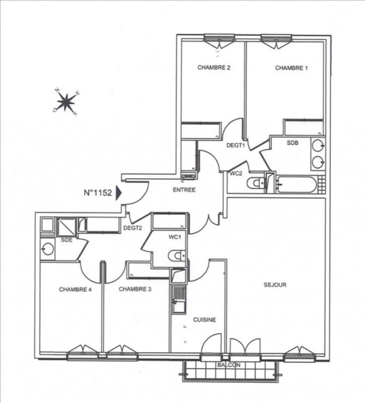 Affitto appartamento Suresnes 2552€ CC - Fotografia 3
