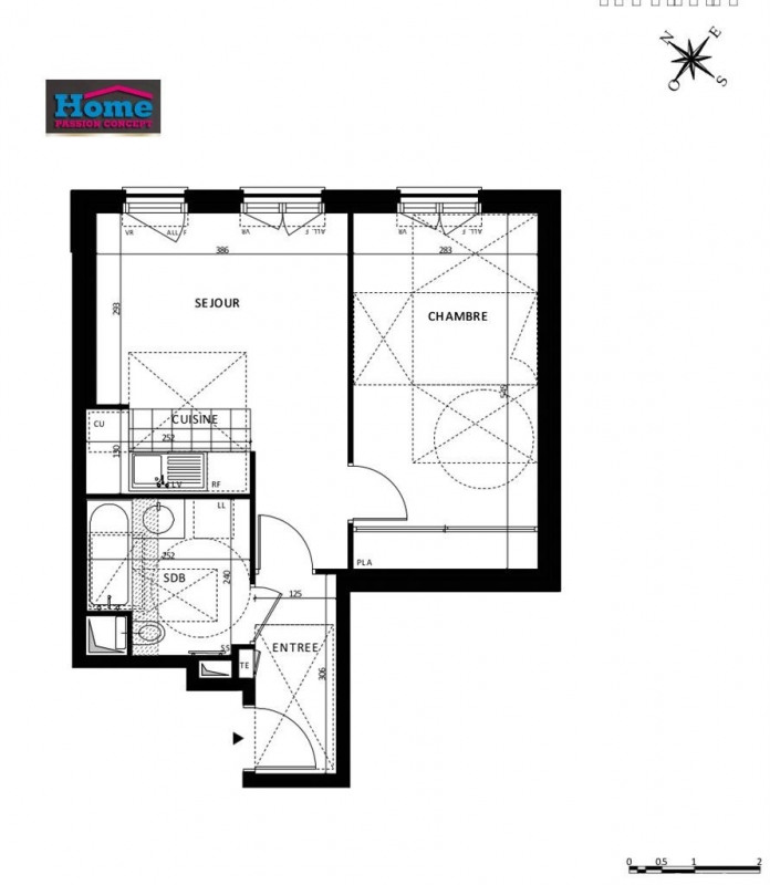 Vente appartement Rueil malmaison 331000€ - Photo 5