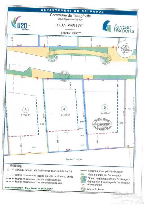 Vendita terreno Tourgeville 79000€ - Fotografia 2