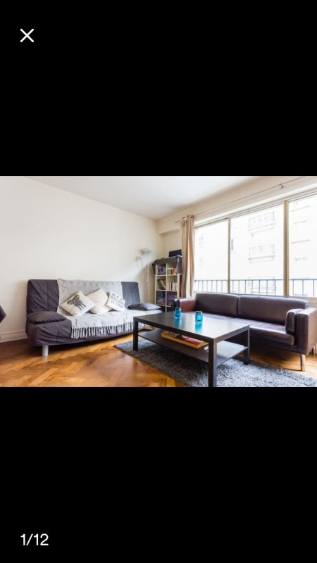 Rental apartment Paris 17ème 1100€ CC - Picture 2