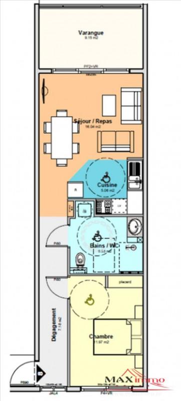 Vente appartement St denis 197800€ - Photo 1