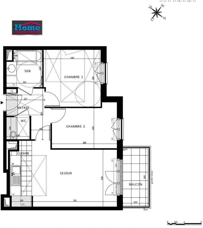 Sale apartment Rueil malmaison 441000€ - Picture 5
