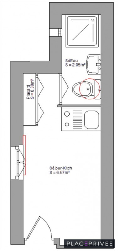 Sale apartment Nancy 65000€ - Picture 4