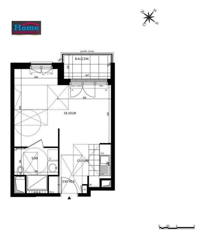 Sale apartment Rueil malmaison 259000€ - Picture 5