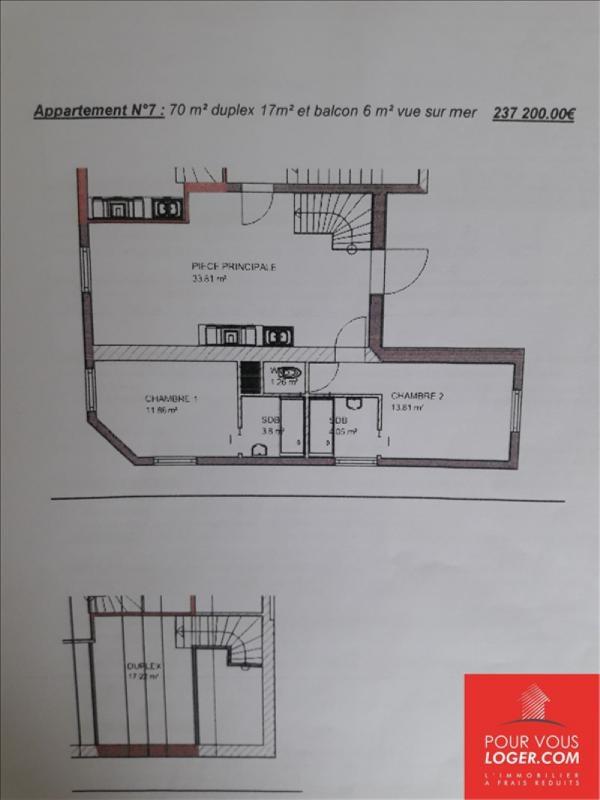 Sale apartment Berck 237200€ - Picture 3