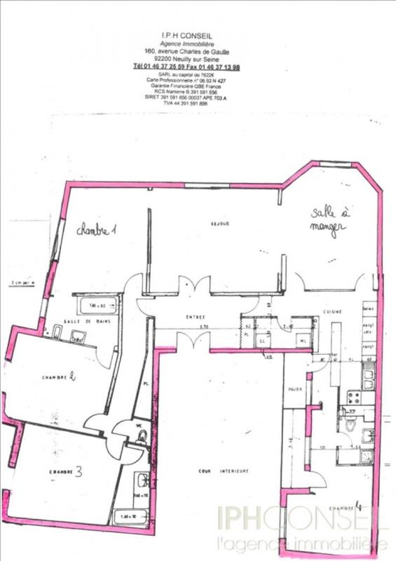 Vente de prestige appartement Neuilly sur seine 2295000€ - Photo 9