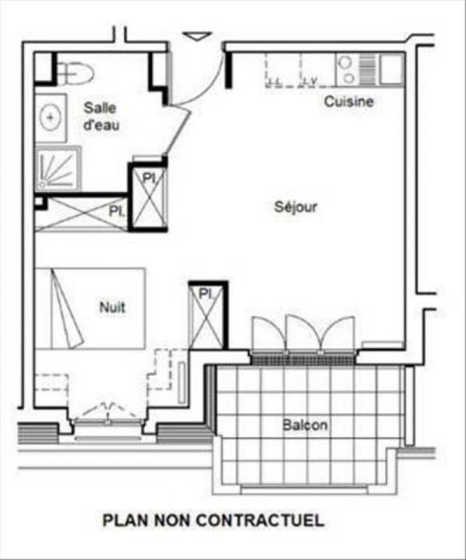 Vente appartement La garenne colombes 292000€ - Photo 2